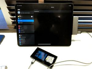 iPadからもルーターとして認識